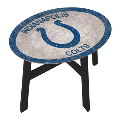 Indianapolis Colts - Team Color Side Table