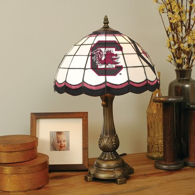 Tiffany Table Lamp - South Carolina