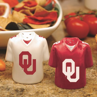 Jersey Salt & Pepper Shaker Set - Oklahoma
