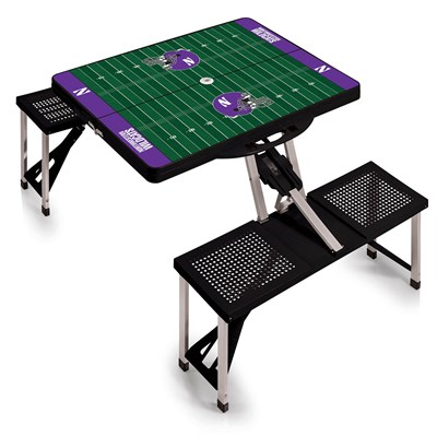 Portable Picnic Table - Northwestern