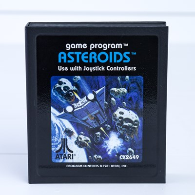 Asteroids Cartridge Notepad