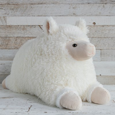 "Oh Gussie! 32"" Jumbo Fluffy Sheep Plush"