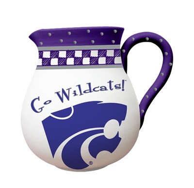 Ceramic Team Pitcher - Kansas State