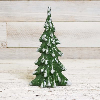 Small Ceramic Green Tree