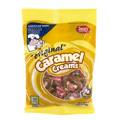 Goetze Caramel Creams Original - 12 Count