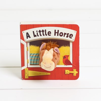 Little Horse Puppet Book