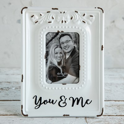 Metal Tabletop Photo Frame