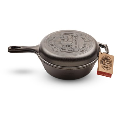Lodge ® Cast Iron Skillet Combo Cooker