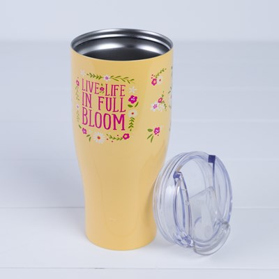 """Life In Full Bloom"" 30 Oz. Tumbler"