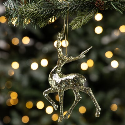 Deer Ornament - Head Turned