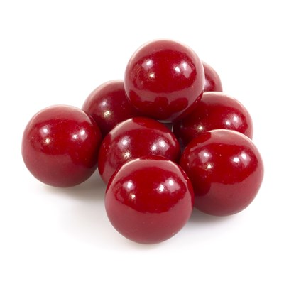 "Red 1"" Gumballs - 2lbs."