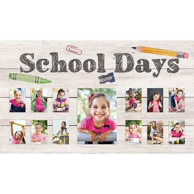 """School Days"" Photo Frame"