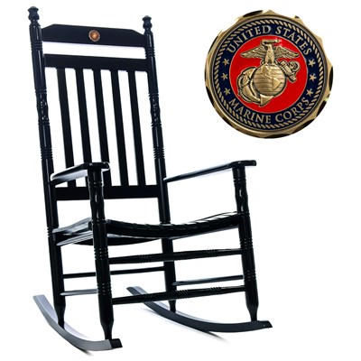 U.S. Marine Corps Rocking Chair