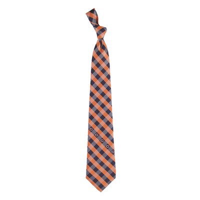 Check Pattern Tie - Chicago Bears
