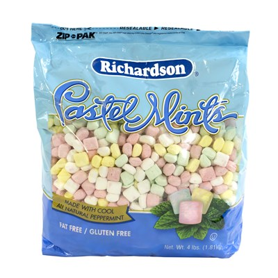 Pastel Mints Stand-Up Bag - 4 lbs.