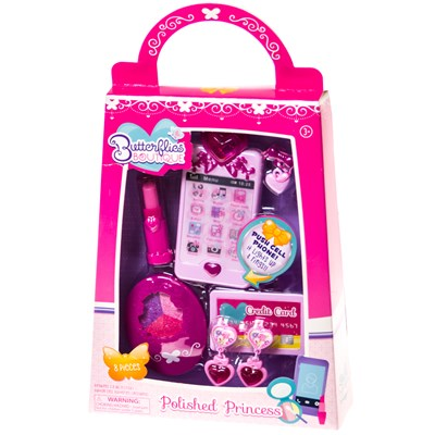 Butterflies ™ Boutique Polished Princess Playset