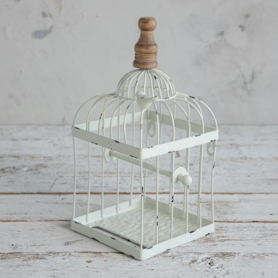Metal Birdcage Toilet Paper Holder