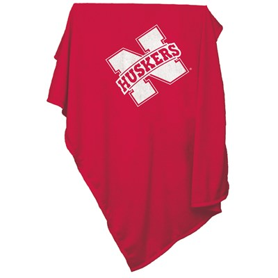 Sweatshirt Throw Blanket - Nebraska