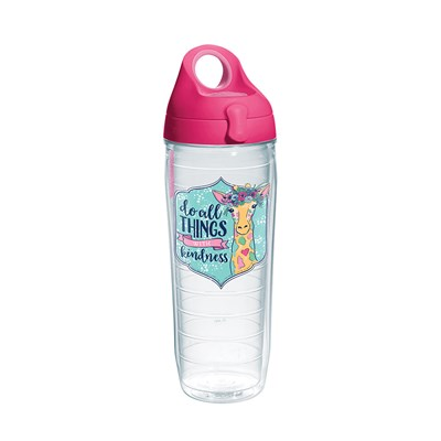 """Kindness"" Giraffe 24 Oz. Water Bottle"