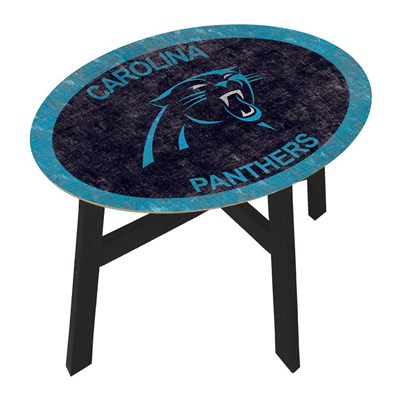 Carolina Panthers - Team Color Side Table