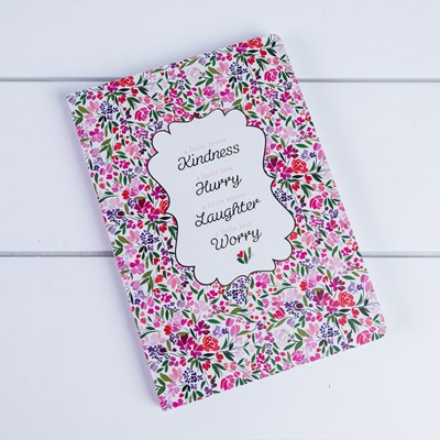 """A Little More Kindness"" Softcover Journal"