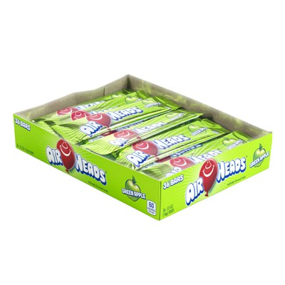Airheads Green Apple Bar - 36 Count