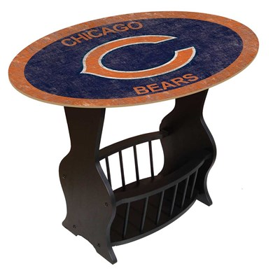 Chicago Bears - Team Color End Table