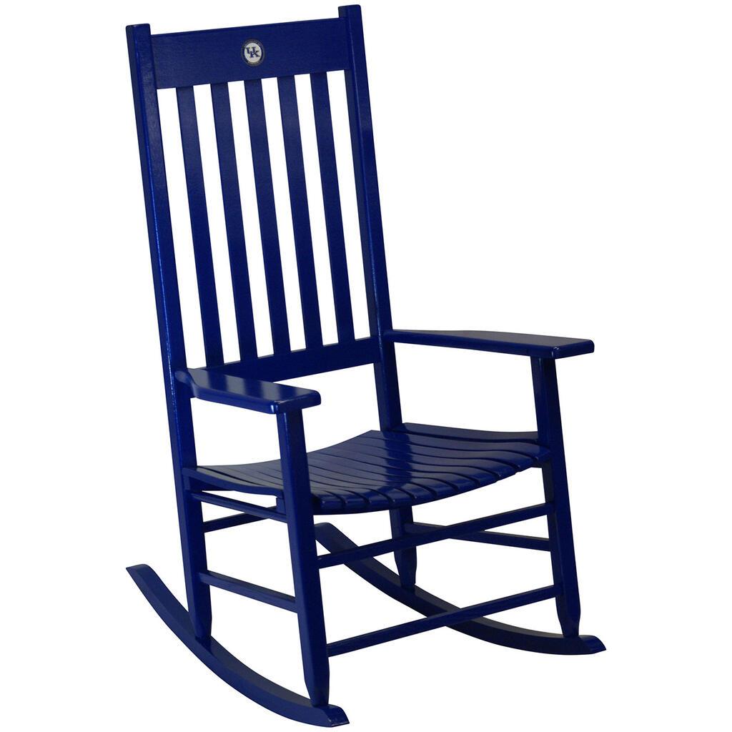 blue rocking chair. Team Color Rocking Chair - KentuckyTeam Kentucky Blue O