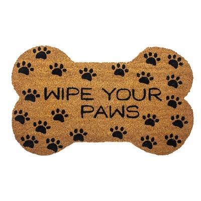 Wipe Your Paws Slip Resistant Coir Doormat