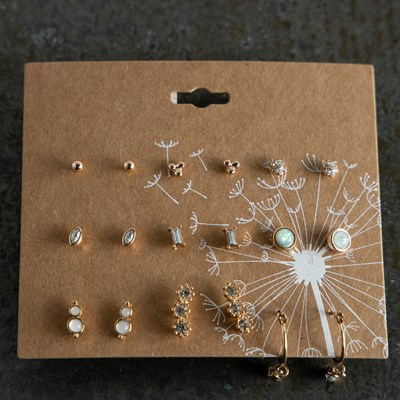9 Set Mulit-Pack Earrings