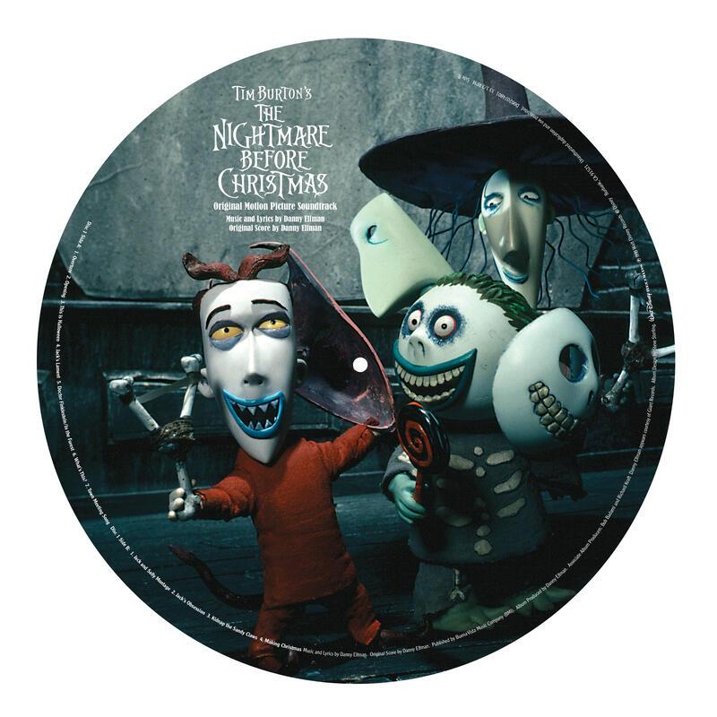 Nightmare Before Christmas Soundtrack Vinyl 1