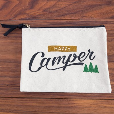 """Happy Camper"" Pouch"