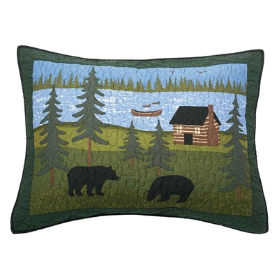 Bear River Standard Sham by Donna Sharp