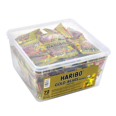 Haribo Gold-Bears - 72 count