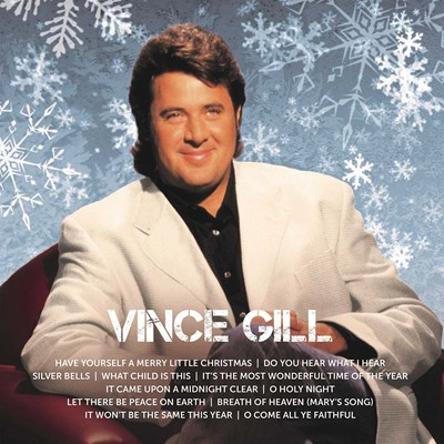 Vince Gill Icon Christmas CD