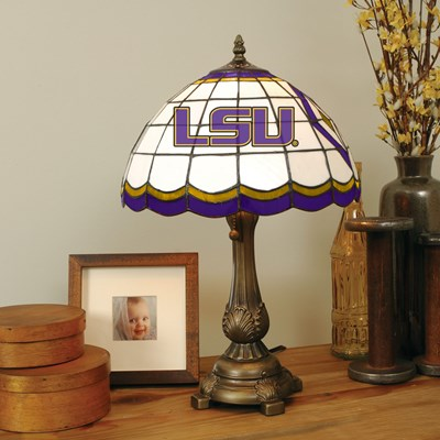 Tiffany Table Lamp - LSU