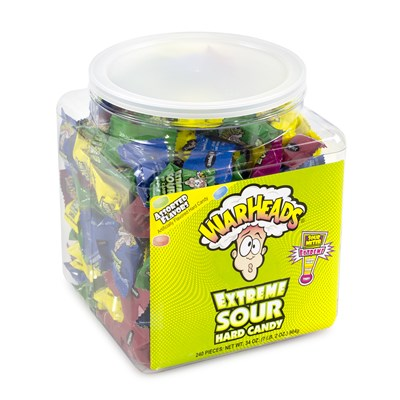 Warheads 240-Piece Tub