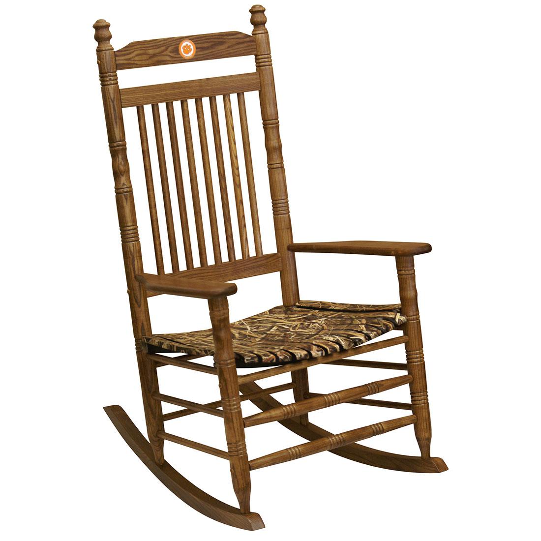 Beau Camo Rocking Chair   ClemsonCamo Rocking Chair   Clemson ...