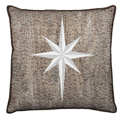 Calm Christmas Decorative Pillow - Star