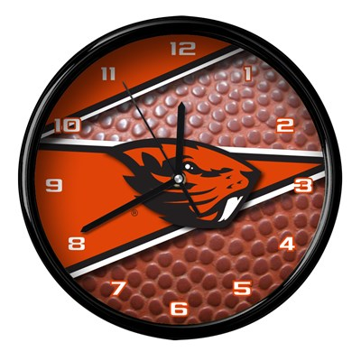 Oregon State - Football Clock