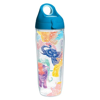 Tervis ® Mehndi Elephants Water Bottle