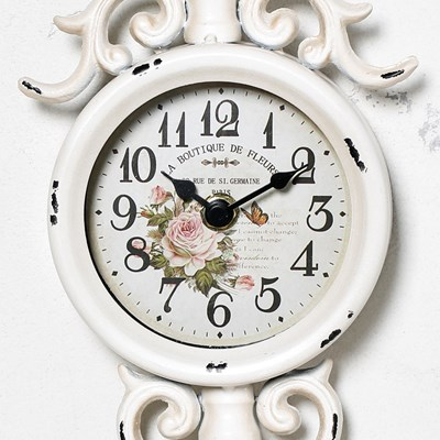 Metal Key Wall Clock