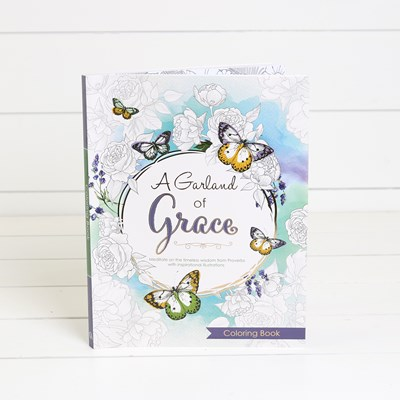 A Garland of Grace Coloring Book
