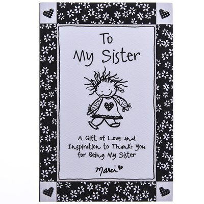 To My Sister Gift Book