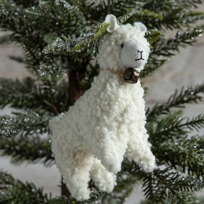 Oh Gussie! Sheep with Jingle Bell Ornament