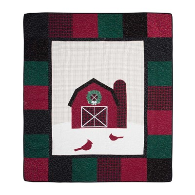 Winter Barn Throw