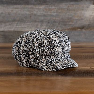 Boulce Plaid Cabbie Hat