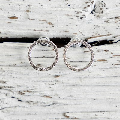 Pace Circle Earrings