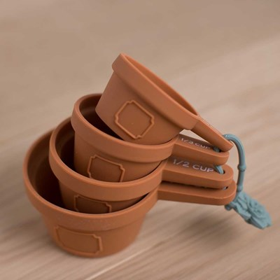 Flower Pot Measuring Cups - Set of 4
