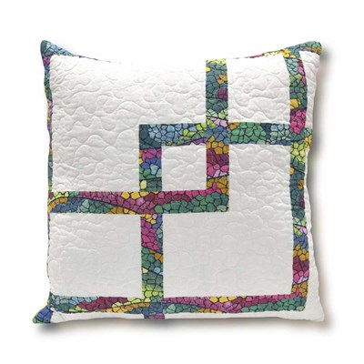 Aurora Winter Decorative Pillow - Blocks